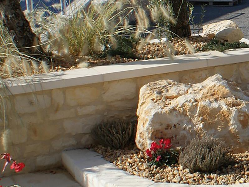 Dessus de Mur pierre reconstituée Poupelin