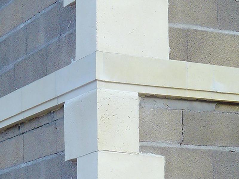 Bandeaux pierre reconstituée Poupelin