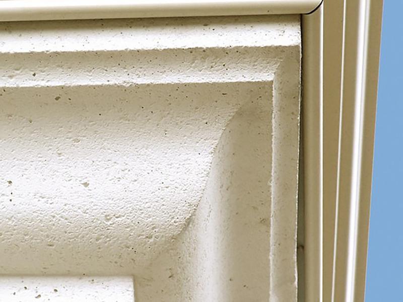 corniche pierre reconstituée Poupelin