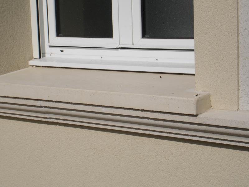 Appuis de fenêtre et seuils de porte pierre reconstituée Poupelin